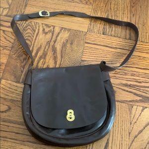 Salvatore Ferragamo brown leather purse